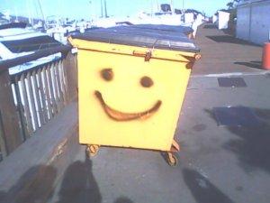 Happy Dumpster