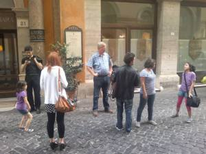 Rick Steves shoot