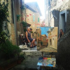 Kelly alley painting