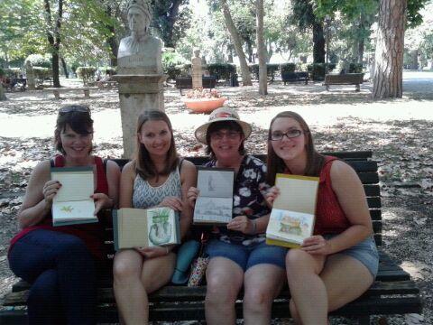 Sketch tour rome